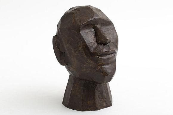 Flamant Carved Mango Wood Head