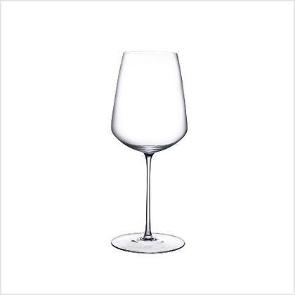 Set of 2 Lead Free Crystal Stem Zero Powerful Red Wine Glasses