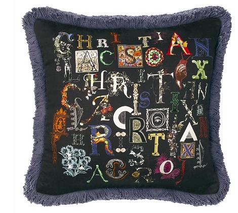 Christian Lacroix Do You Speak Lacroix Multicolore Cushion