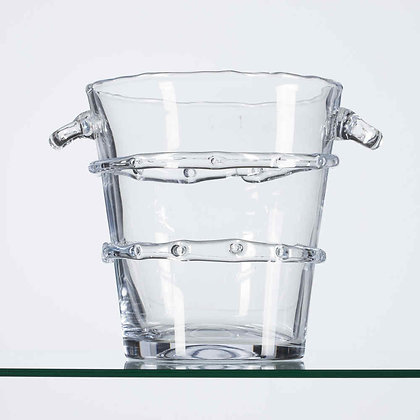 Flamant Clear Glass Champagne Cooler