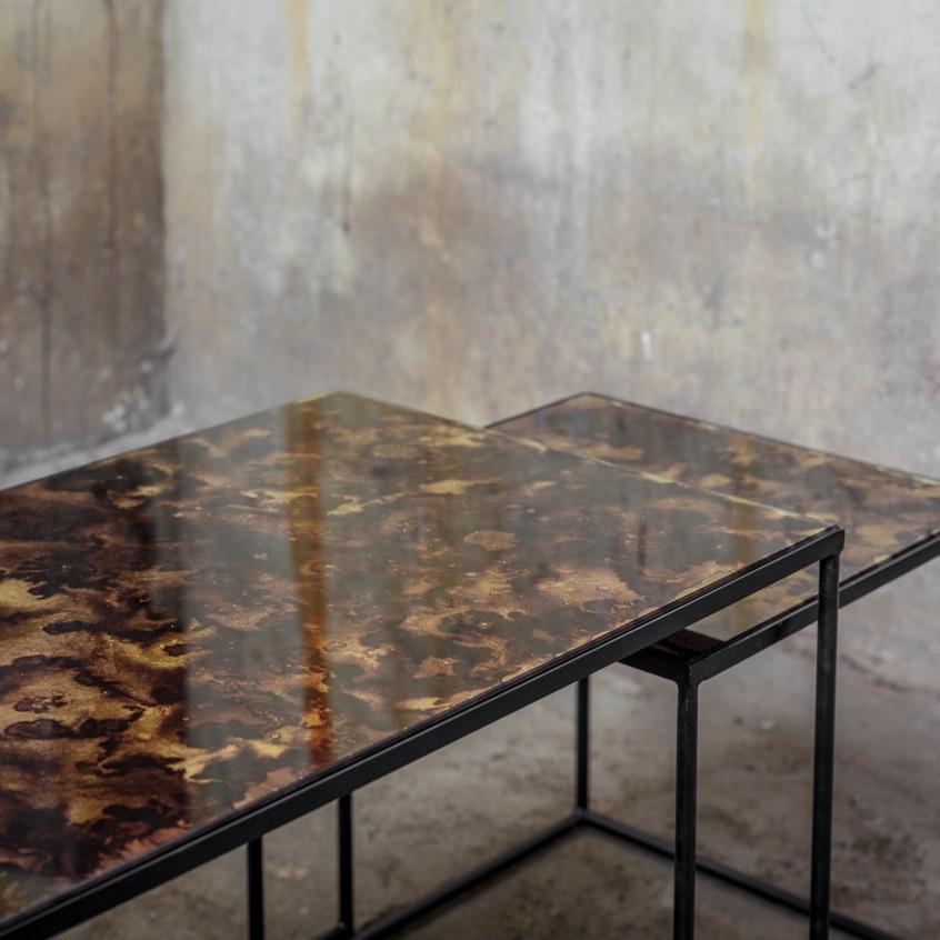 20774 Trinity coffee table set tortoise