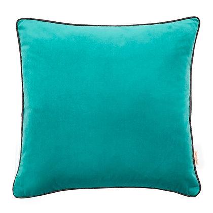 Susi Bellamy Jade Plain Velvet Cushion