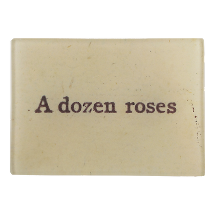 John Derian A Dozen Roses Small Decoupage Glass Tray