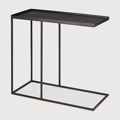 Ethnicraft Rectangular Graphite CurvesTray Table
