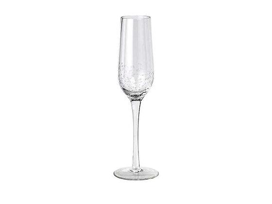 Set of 4 Broste Bubble Champagne Flutes