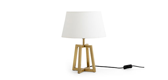 Flamant Metal Table Lamp with Frame Base - Small