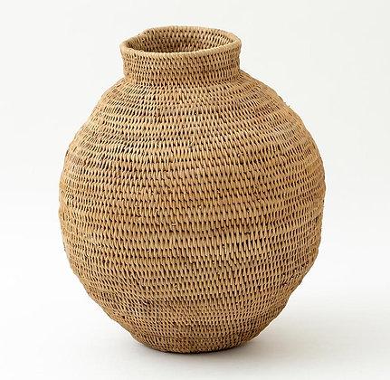Flamant Medium Woven Rattan Pot
