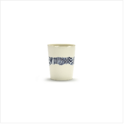 Feast by Ottolenghi Earthenware Blue Stripes Cup