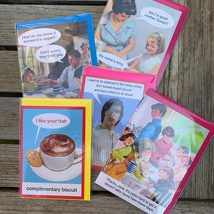 Humorous Greeting Card Bundle