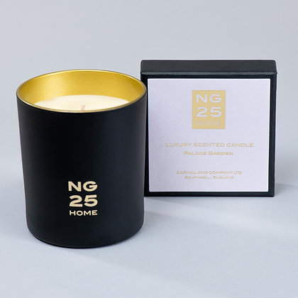NG25 HOME PALACE GARDEN LUXURY FRAGRANCED CANDLE