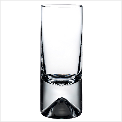 Set of 4 Lead Free Crystal No 9 High Ball Tumblers