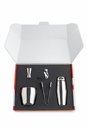 Alessi Mirror Polished Cocktail Set