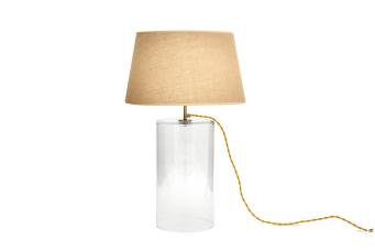 Flamant Large Glass Bell Jar Table Lamp