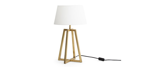 Flamant Metal Table Lamp with Frame Base - Large