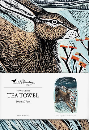 Angela Harding Printed Cotton Tea Towel - Shooting Stars