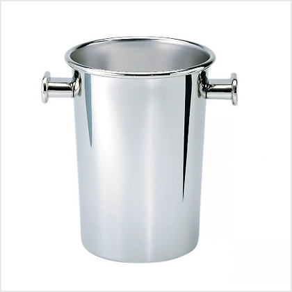 Alessi Polished Stainless Steel Tall Wine Cooler