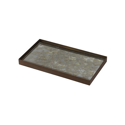 Ethnicraft Medium Rectangular Fossil Valet Tray