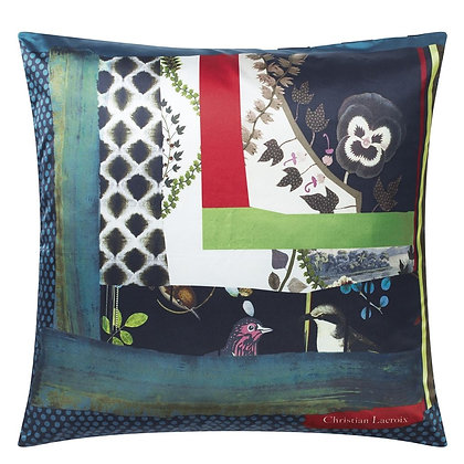 Christian Lacroix Pansy Patch Crepsecule Cushion