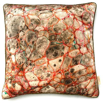 Susi Bellamy Pietra Grigia Velvet Cushion
