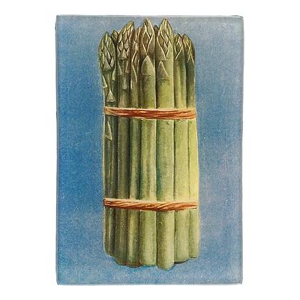 John Derian Asparagus Decoupage Rectangular Dish