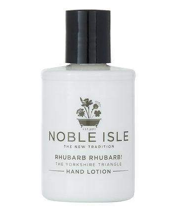 Noble Isle Rhubarb Rhubarb Travel Size Luxury Hand Lotion