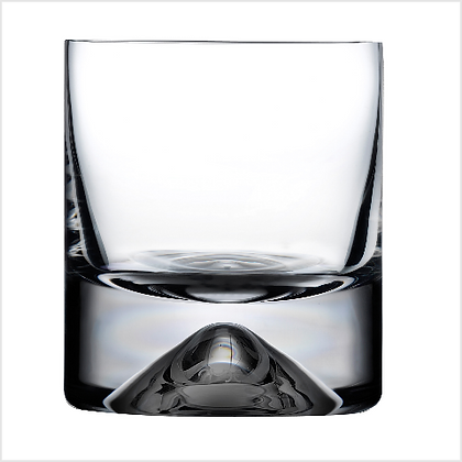 Set of 4 Lead Free Crystal No 9 Whisky Tumblers