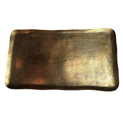 Pols Potten Decorative Rectangular Brass Tray