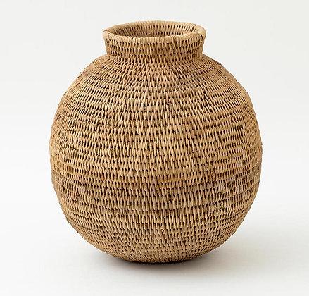 Flamant Small Woven Rattan Pot