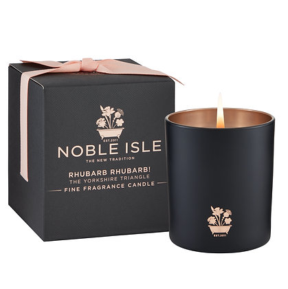 Noble Isle Rhubarb Rhubarb Fine Fragrance Scented Candle