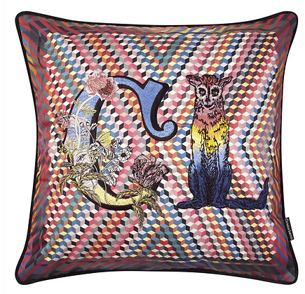 Christian Lacroix Monogram Me Lacroix! Multicolore Cushion Cushion