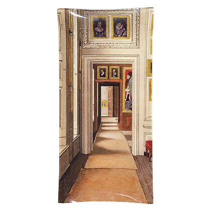 John Derian Queen's Closet Decoupage Rectangular Pencil Tray