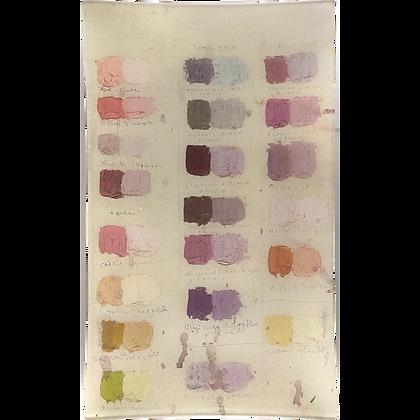 John Derian Warm Whites (Painter's Studio) Decoupage Rectangular Tray