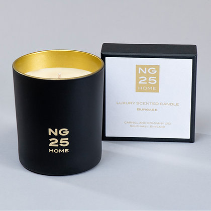 NG25 HOME BURGAGE LUXURY FRAGRANCED CANDLE