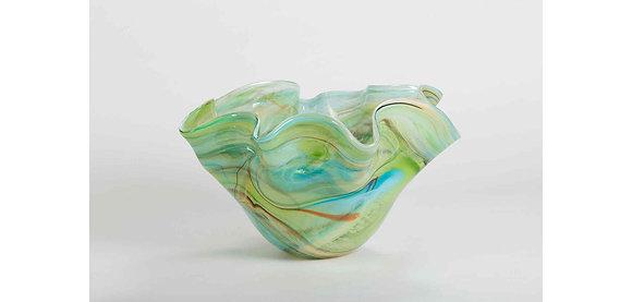 Flamant Hand Made Torssen Glass Vase