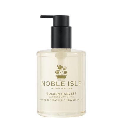 Noble Isle Golden Harvest Bubble Bath and Shower Gel