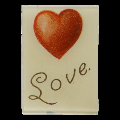 John Derian With Love Small Decoupage Glass Tray