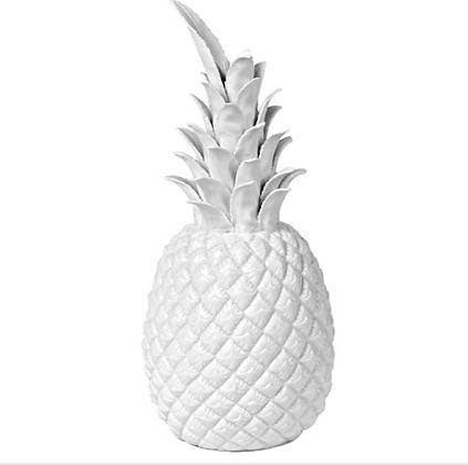 Pols Potten White Porcelain Pineapple