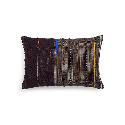 Ethnicraft Dark Tulum cushion by Dawn Sweitzer