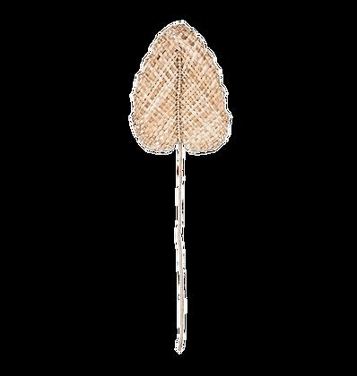 Natural Decorative  Woven Leaf Wide