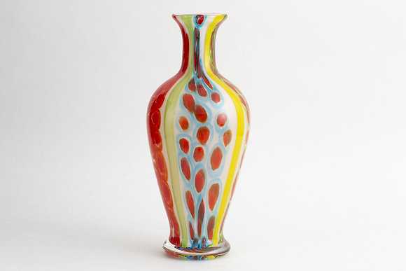 Flamant Hand Made Seneca Glass Vase