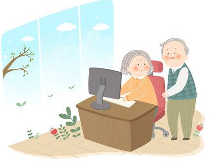 How Using the Internet Can Help the Old Stay Young At Heart