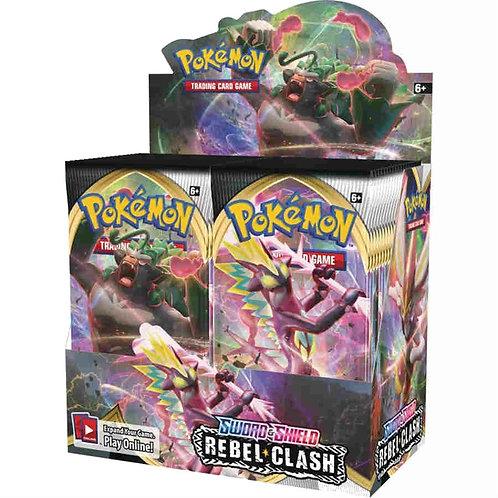 Sword & Shield Rebel Clash Booster Box