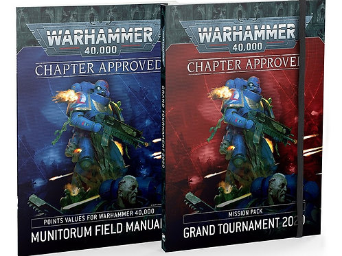 Chapter Approved 2020: Grand Tournament Mission Pack & Munitorum Field Manual