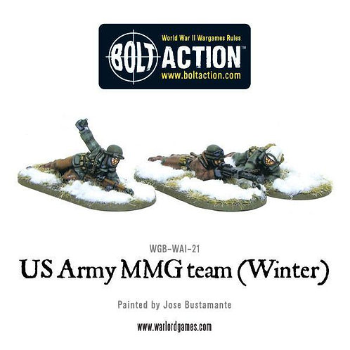US Army MMG team (Winter) - Prone