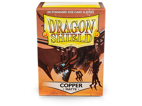 Dragon Shield Matte: Copper Standard Sleeves (100)