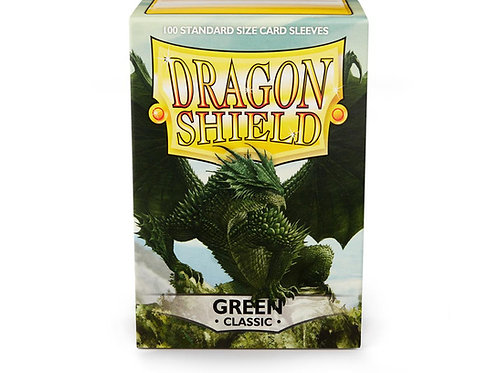 Dragon Shield Classic: Green Standard Sleeves (100)