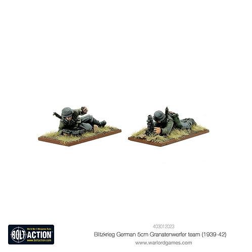 Blitzkrieg German 5cm Granatenwerfer team (1939-42)