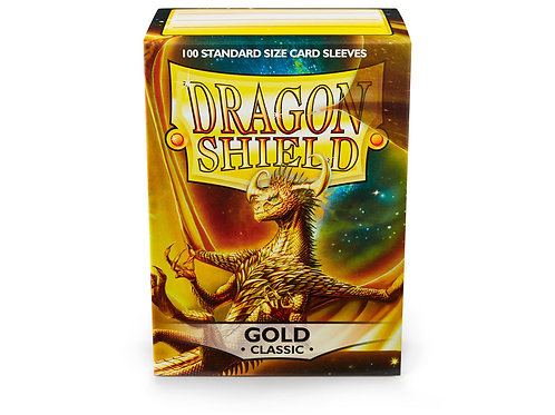 Dragon Shield Classic: Gold Standard Sleeves (100)