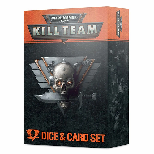 Kill Team Card and Dice Set