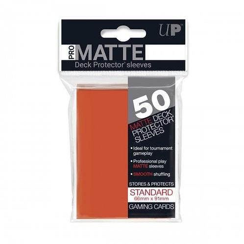 Ultra Pro 50 Pro-Matte Peach Standard Deck Protector Sleeves